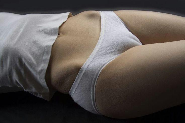 white panty cameltoe