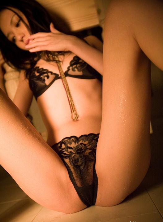 Sexy black underwear