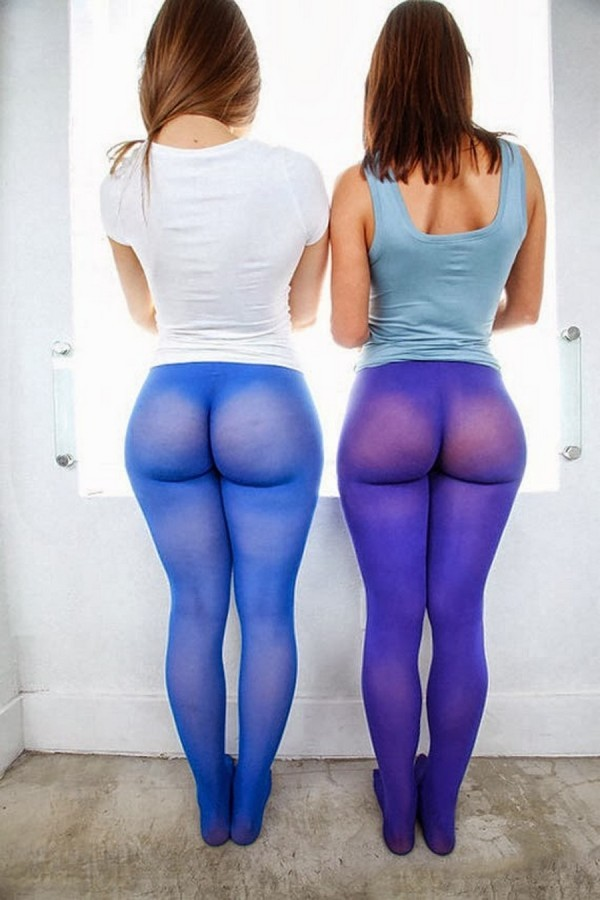 See through tight trousers