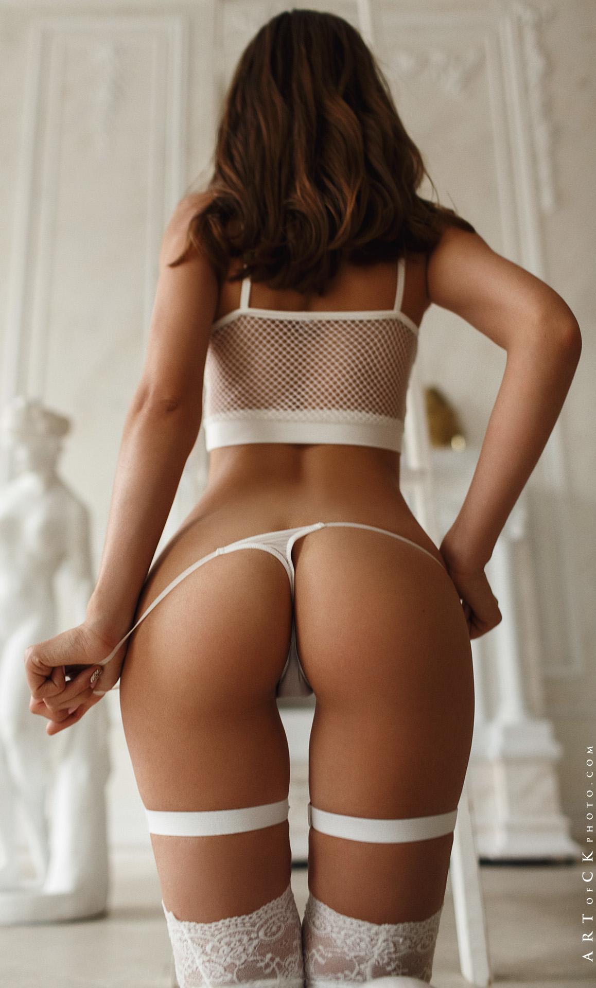 sexy white lingerie set