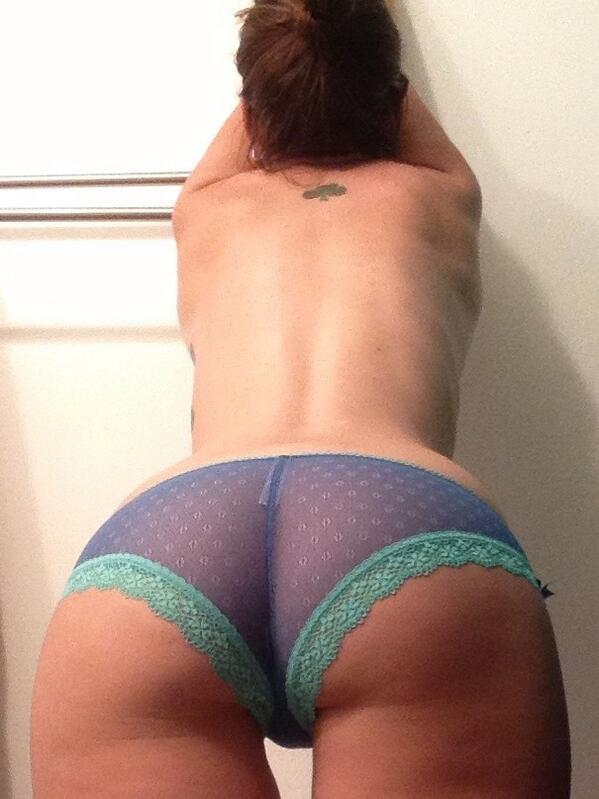 Full back panty babe