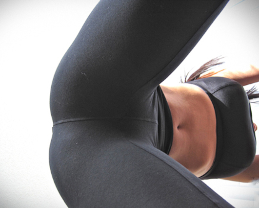Inner thigh babe