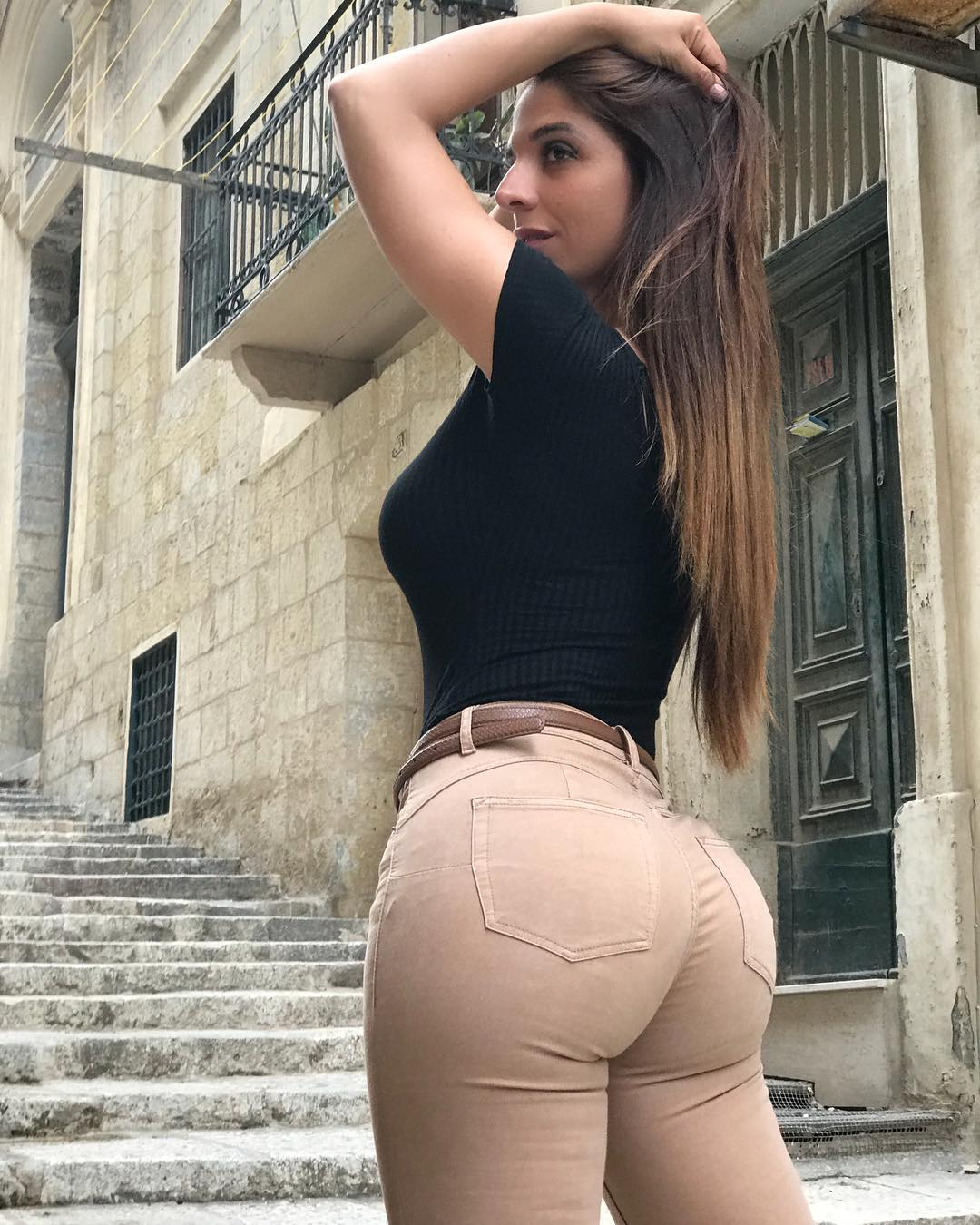 Thicc ass in jeans babe