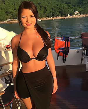 Boating with Mel