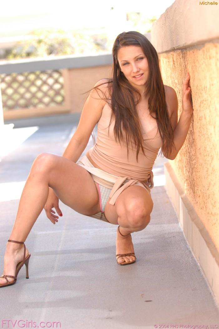 Up skirt panty babe
