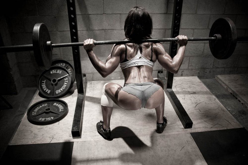 Work on those glutes to get a sexy bum
